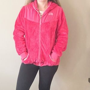Hot Pink North Face
